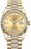 Rolex Часы Rolex Day-Date 128238-0026 36 mm Yellow Gold
