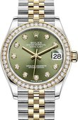 Rolex Datejust 278383rbr-0030 31mm Steel and Yellow Gold