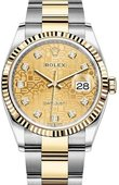 Rolex Datejust 126233-0034 36mm Steel and Yellow Gold