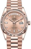 Rolex Часы Rolex Day-Date 128235-0009 36mm Everose Gold