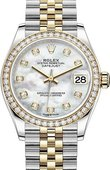 Rolex Datejust 278383rbr-0028 31mm Steel and Yellow Gold