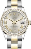 Rolex Datejust 278383rbr-0003 31mm Steel and Yellow Gold