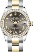Rolex Datejust 278383rbr-0017 31mm Steel and Yellow Gold
