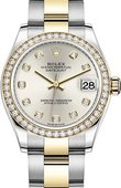 Rolex Datejust 278383rbr-0019 31mm Steel and Yellow Gold