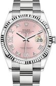 Rolex Datejust 126234-0032 36mm Steel and White Gold