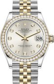 Rolex Datejust 278383rbr-0020 31mm Steel and Yellow Gold