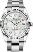 Rolex Datejust 126234-0020 36 mm Steel and White Gold