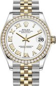 Rolex Datejust 278383rbr-0002 31mm Steel and Yellow Gold