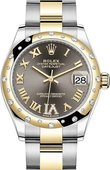 Rolex Datejust 278343rbr-0017 31mm Steel and Yellow Gold