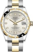 Rolex Datejust 278343rbr-0019 31 mm Steel and Yellow Gold