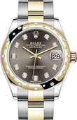 Rolex Datejust 278343rbr-0021 31 mm Steel and Yellow Gold