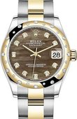 Rolex Datejust 278343rbr-0023 31 mm Steel and Yellow Gold