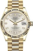 Rolex Datejust 278278-0034 31 mm Yellow Gold