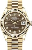 Rolex Datejust 278278-0038 31 mm Yellow Gold