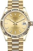 Rolex Datejust 278278-0040 31 mm Yellow Gold