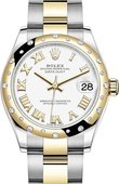 Rolex Datejust 278343rbr-0001 31 mm Steel and Yellow Gold