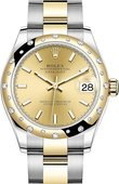 Rolex Datejust 278343rbr-0013 31 mm Steel and Yellow Gold