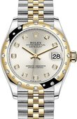 Rolex Datejust 278343rbr-0020 31mm Steel and Yellow Gold