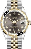 Rolex Datejust 278343rbr-0022 31 mm Steel and Yellow Gold