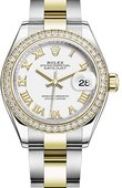 Rolex Datejust 279383rbr-0024 28 mm Steel and Yellow Gold