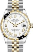 Rolex Datejust 278343rbr-0002 31mm Steel and Yellow Gold