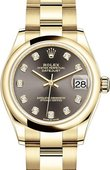 Rolex Datejust 278248-0035 31mm Yellow Gold