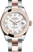 Rolex Datejust 279161-0022 28 mm Steel and Everose Gold