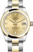 Rolex Datejust 278243-0025 31 mm Steel and Yellow Gold