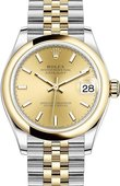Rolex Datejust 278243-0014 31 mm Steel and Yellow Gold