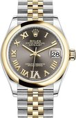 Rolex Datejust 278243-0018 31 mm Steel and Yellow Gold