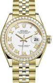Rolex Datejust 279138rbr-0032 28 mm Yellow Gold