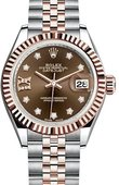 Rolex Datejust 279171-0003 28 mm Steel and Everose Gold