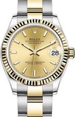 Rolex Datejust 278273-0013 31 mm Steel and Yellow Gold