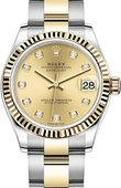 Rolex Datejust 278273-0025 31 mm Steel and Yellow Gold