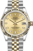 Rolex Datejust 278273-0026 31 mm Steel and Yellow Gold