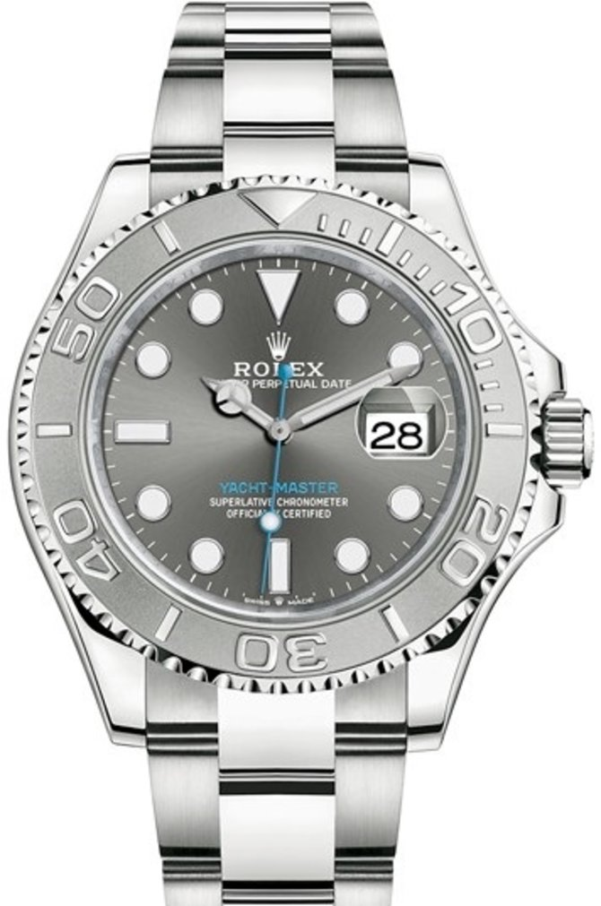 Rolex 126622-0001 Yacht Master II 40 mm Oystersteel and Platinum