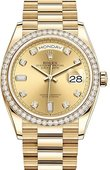 Rolex Day-Date 128348rbr-0008 36 mm Yellow Gold