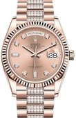 Rolex Часы Rolex Day-Date 128235-0019 36 mm Everose Gold