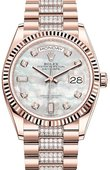 Rolex Часы Rolex Day-Date 128235-0032 36 mm Everose Gold