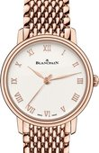 Blancpain Часы Blancpain Villeret 6104-3642-MMB Ultra-Slim Automatic 29 mm