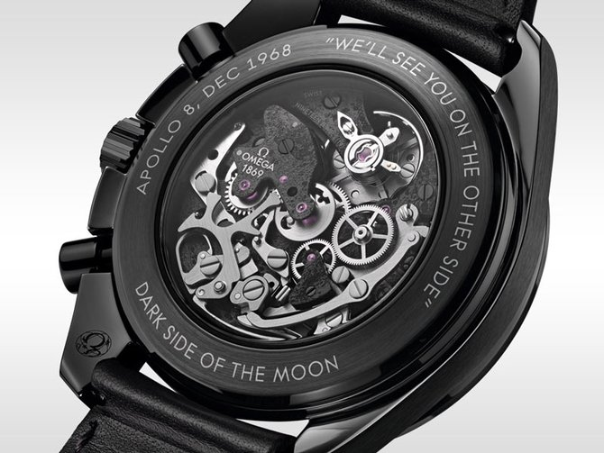 Omega 311.92.44.30.01.001 Speedmaster Moonwatch Dark Side of the Moon Apollo 8 - фото 2