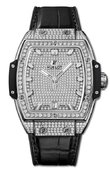 Hublot Spirit of Big Bang 665.NX.9010.LR.1604 39 mm Titanium Full Pave Diamonds