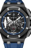 Audemars Piguet Royal Oak 26407CE.OO.A030CA.01 Tourbillon Chronograph Openworked