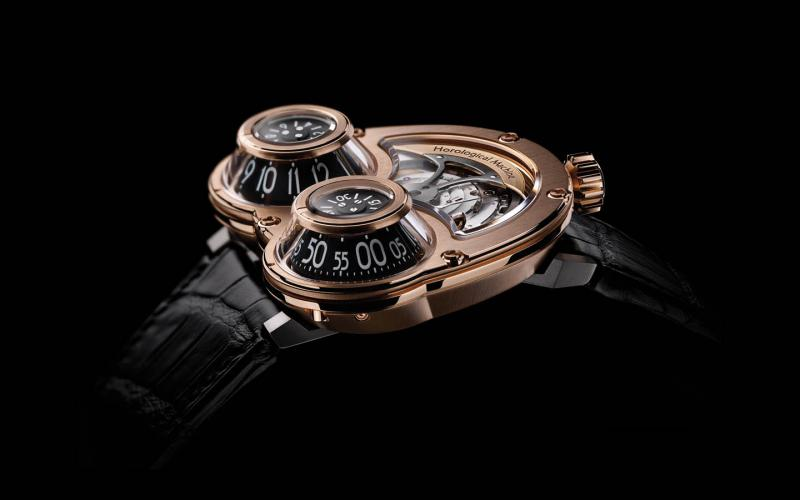 35.RTL.B MB&F HM3 Megawind Red Gold Horological Machines