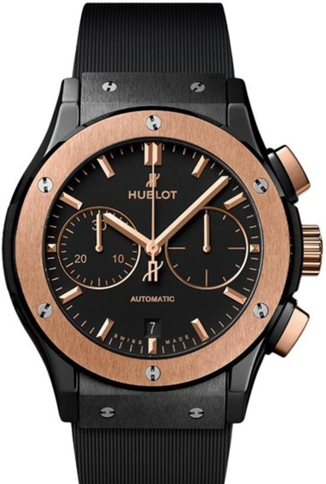 Hublot 521.CO.1181.RX Classic Fusion Chronograph Ceramic King Gold