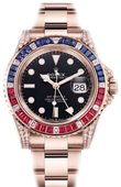 Rolex Часы Rolex GMT-Master II 126755SARU 40 mm Everose Gold
