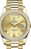 Rolex Day-Date 228348RBR-0003 40 mm Yellow Gold