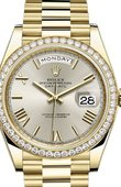 Rolex Day-Date 228348RBR-0007 40 mm Yellow Gold