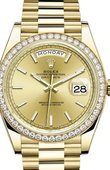 Rolex Day-Date 228348RBR-0008 40 mm Yellow Gold