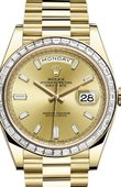 Rolex Day-Date 228398TBR-0002 40 mm Yellow Gold